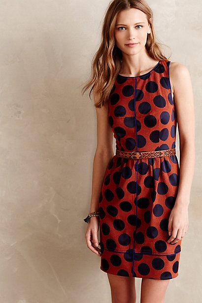 Rokin Dress. Available in black, orange. Anthropologie. $89.95.