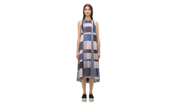 Kuni Patchwork Pleat Dress. Whistles. $435.