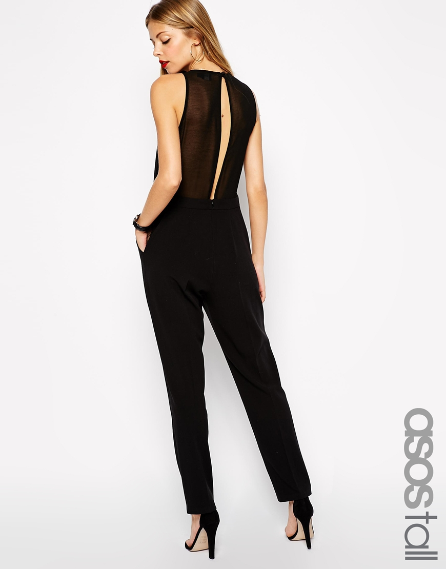 ASOS Tall Jumpsuit with Sheer Back. ASOS. $85.28.