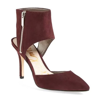 Zaida Pumps. Available in new burgundy suede, black suede. Nordstrom. $104.96.