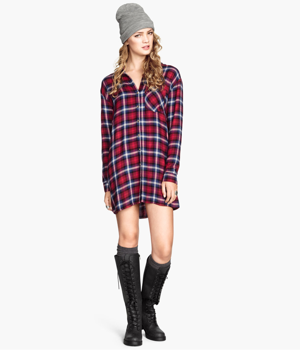 Shirt Dress. H&M. $29.95.