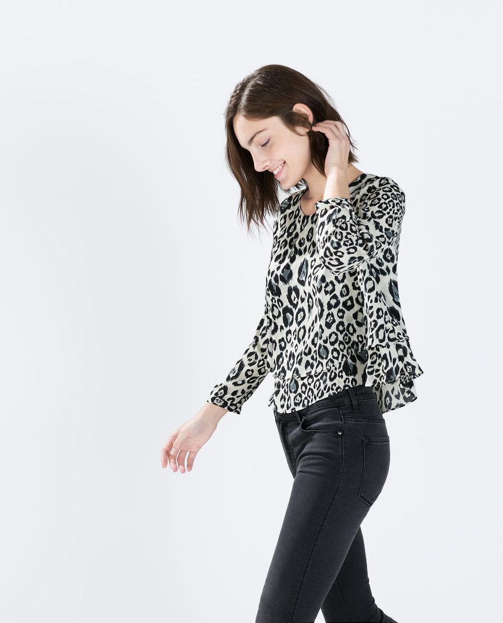 Double Layer Print Top. Zara. $49.90.