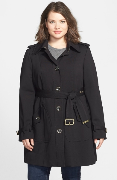 Vince Camuto Single Breasted Soft Shell Trench Coat. Nordstrom. $260.00 Classic Trenches accentuate the waist and are waterproof!