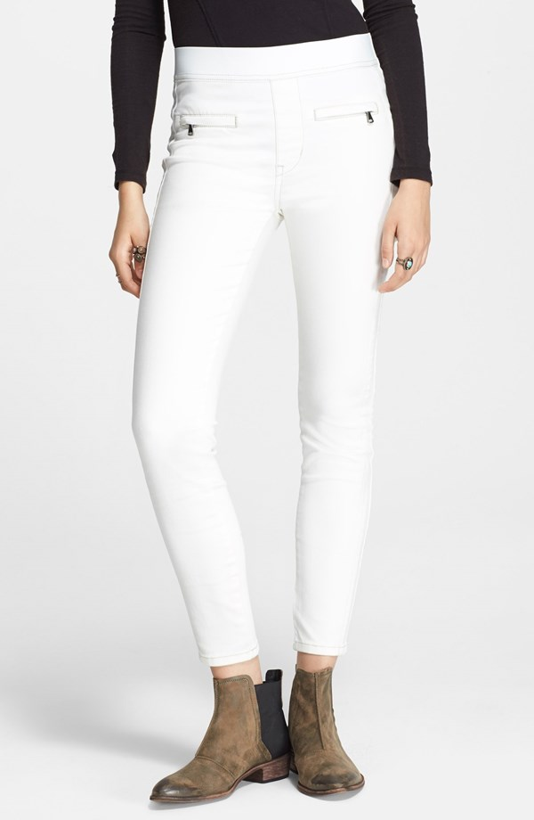 Free People High Rise Tuxedo Leggings. Nordstrom. $78.
