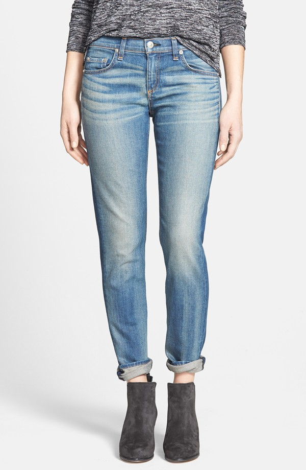 rag & bone The Dre Slim Fit Boyfriend Jeans. Nordstrom Exclusive. Nordstrom. Was: $220 Now: $131.