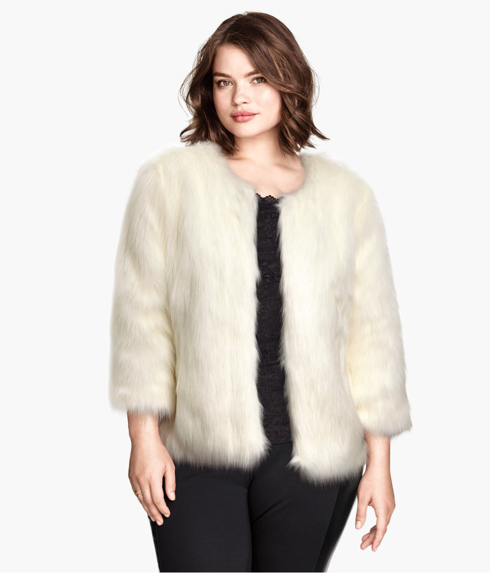 Faux Fur Jacket. H&M +. $69.95
