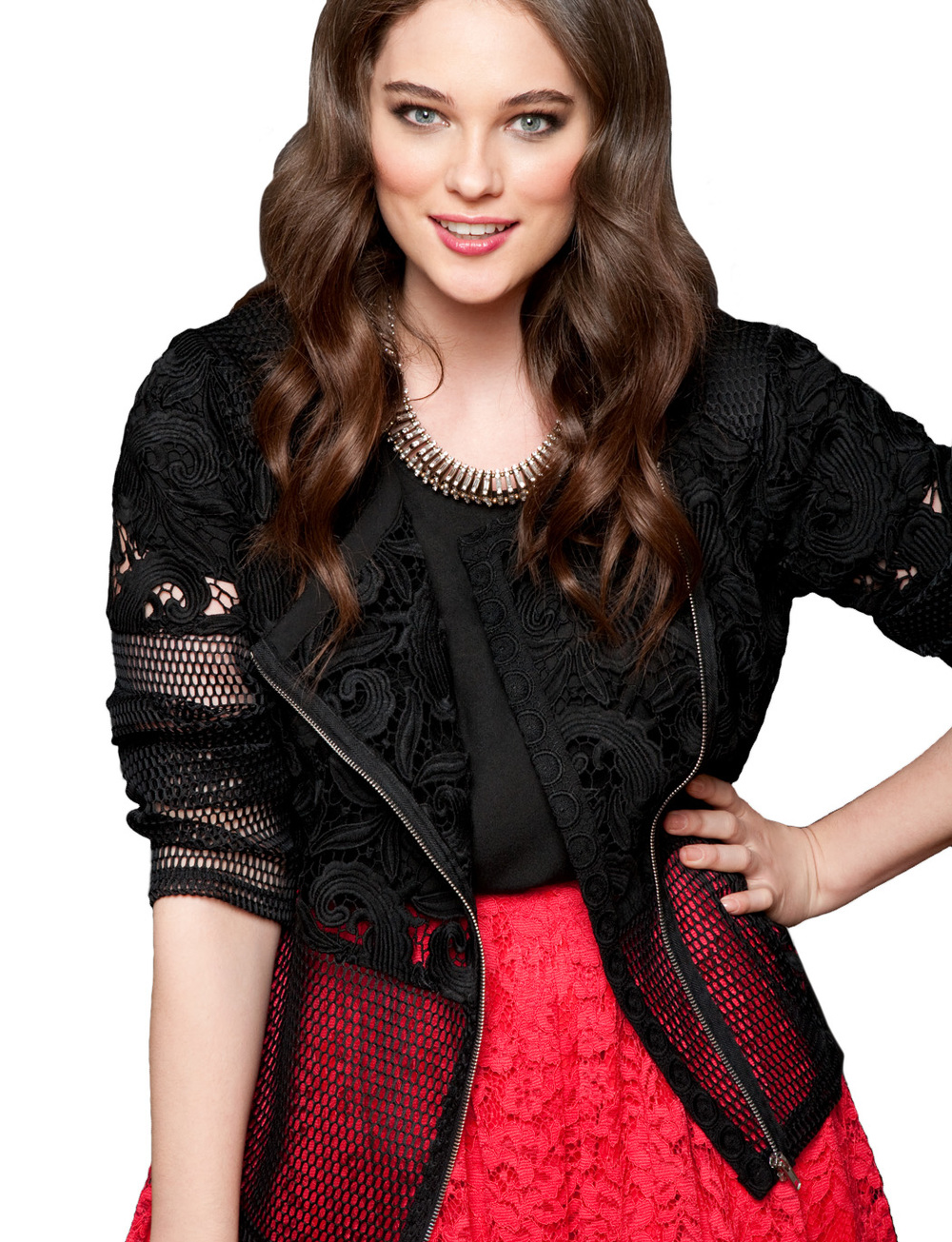 Lace Jacket. Eloquii.com. Also in White. $148.00