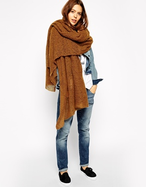 Oversize Knitted Scarf. ASOS. $28.43