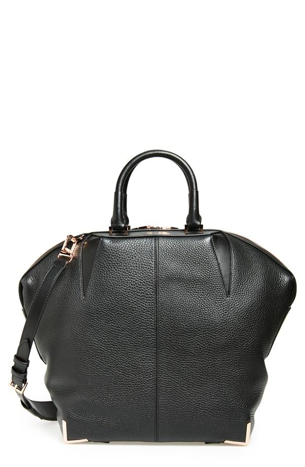 Alexander Wang Large Emile Leather Satchel. Nordstrom. $995.