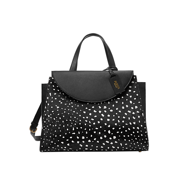 Kate Spade Saturday The A Satchel in Deer Dot Calf Hair. Saturday. $295. Your handbag is the ideal vehicle for integrating joy into every day.