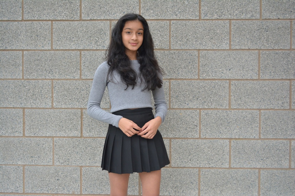 Zoya is an 8th grader living in Seattle with a love for fashion.