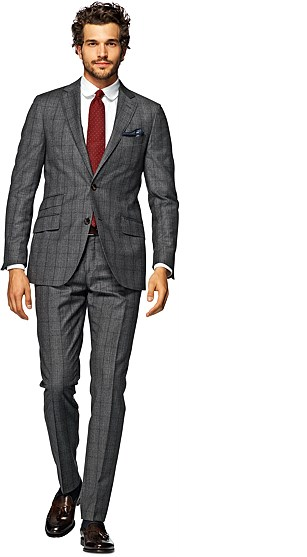 Grey Check Sienna P3930i Suit. Suitsupply. $639.
