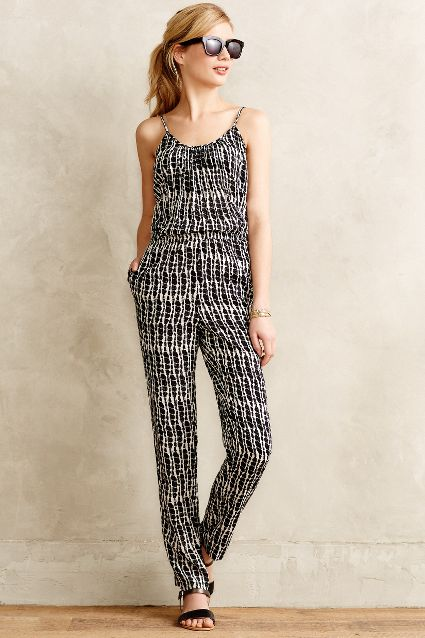 Patachou Petite Jumpsuit. Anthropologie. $198.