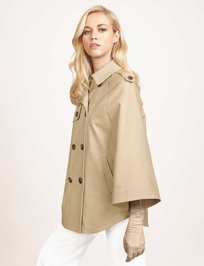 1970 K Street Trench Cape. the Limited. $178.