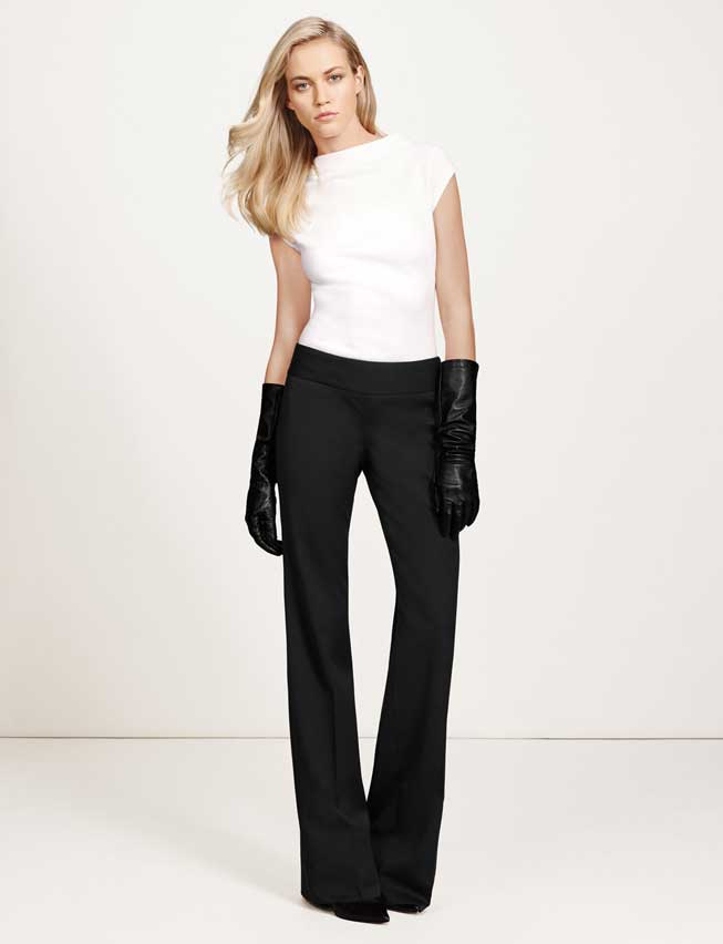 Gladiator in a Suit. The Limited. Wide Leg trousers $98 Top $49.