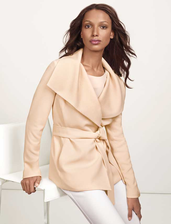 Leading Lady. The Limited. Shawl collar coat $198.