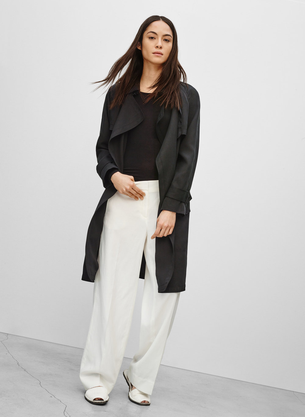 Babaton Lawson Trench Coat. Available in multiple colors. Aritzia. $225.