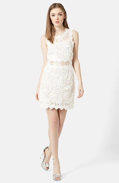 Topshop Scallop Lace Dress. Nordstrom. $190.