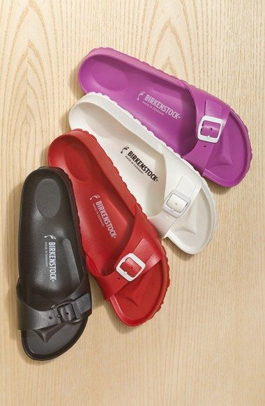 Birkenstock Madrid Slide Sandal. Available in multiple colors. Nordstrom. $29.95.