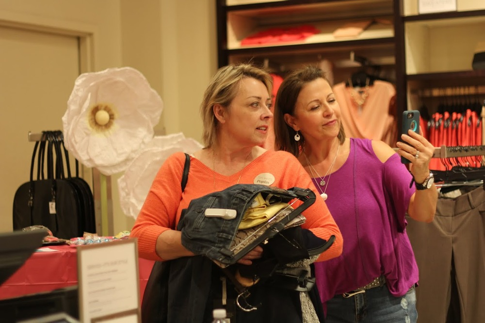 Because friends who shop together are happier when that experience is documented.