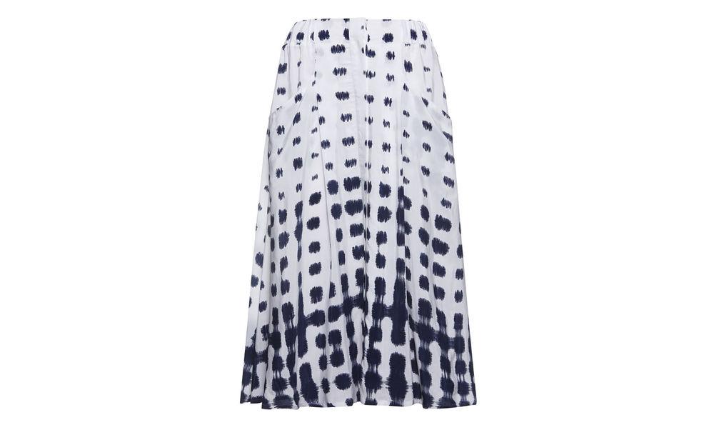 Button Through Shibori Skirt. Whistles UK. $180.