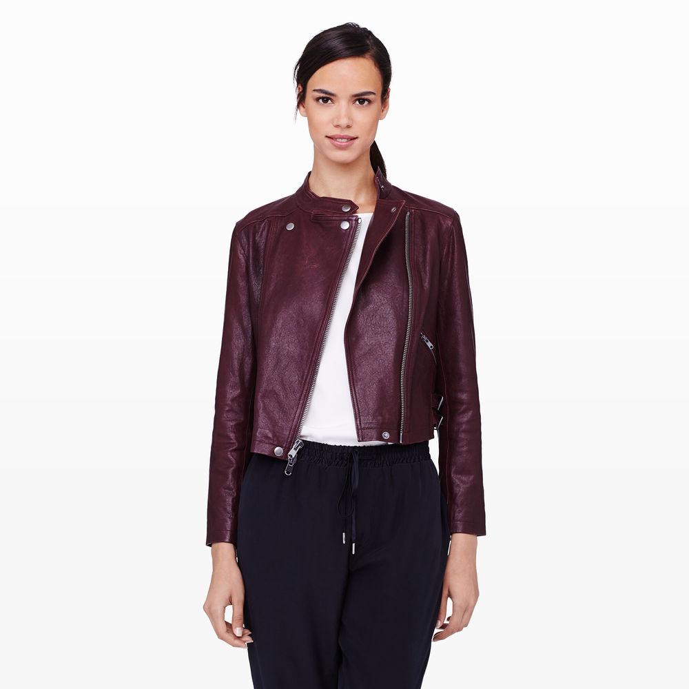 Jiro Leather Jacket. Club Monaco. $595.
