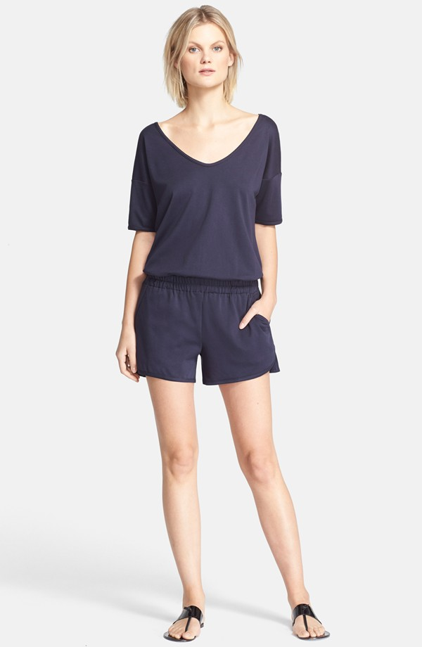 Theory Jiyan Cotton Romper. Nordstrom. $190.
