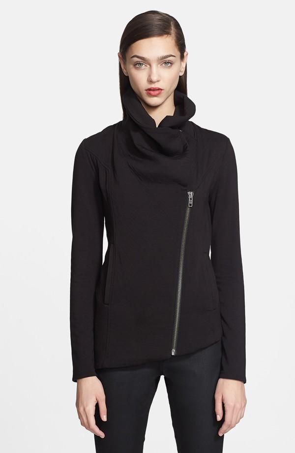 Helmut Lang Villous Zip Front Sweatshirt. Nordstrom. $230.