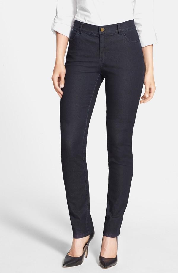Lafayette 148 Primo Denim Curvy Fit Slim Leg Jeans. Nordstrom. $198.