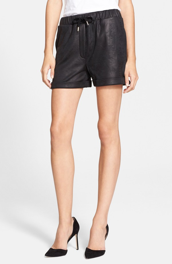The Kooples Sport Coated Shorts. Nordstrom. $145.
