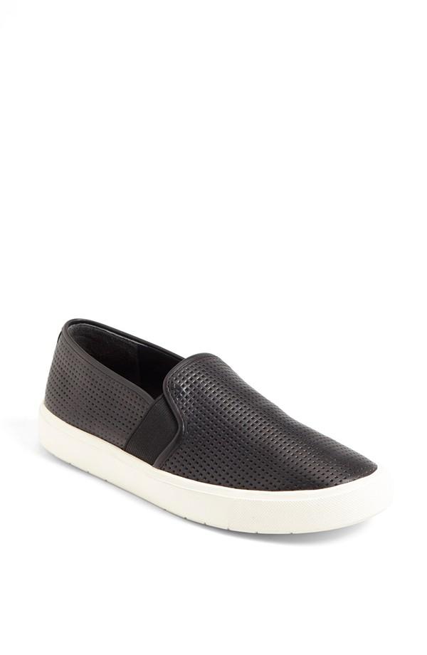 Vince Blair 5 Slip on Sneaker. Available in black, woodsmoke.Nordstrom. $195.