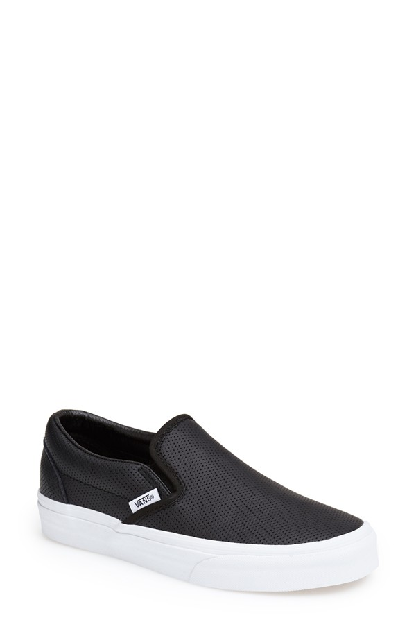 Vans Classic Perforated Slip On Sneaker. Available in multiple colors. $59.95.