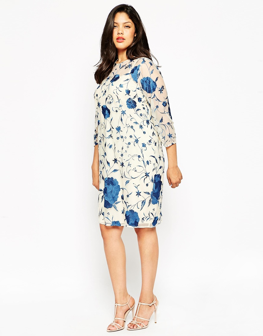 Embroidered Shift Dress. ASOS. $117.79