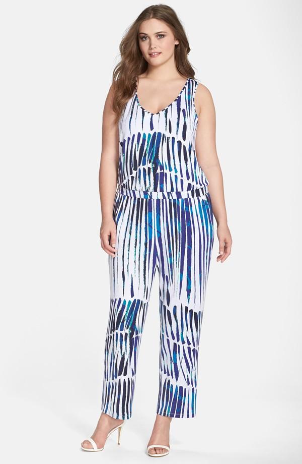 'Taryn' Print V-Neck Jumpsuit. Nordstrom. $176.00