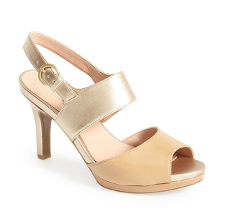 Naturalizer 'Nebula' Leather Sandal. Also comes in black and monochrome. Nordstrom. $98.95