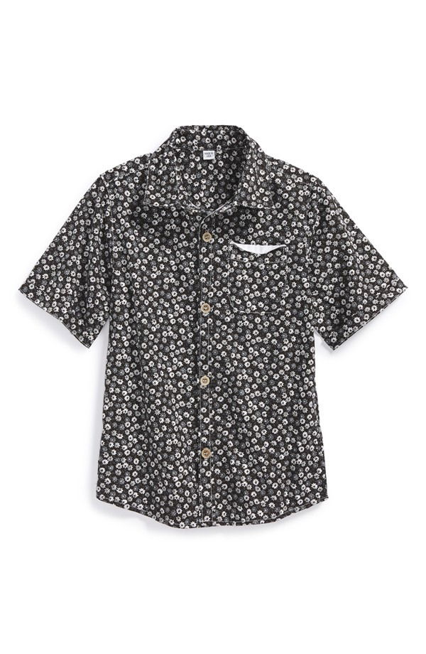 Holt & Lulu Short Sleeve Woven Shirt. Nordstrom. Was: $77 Now: $46.20.