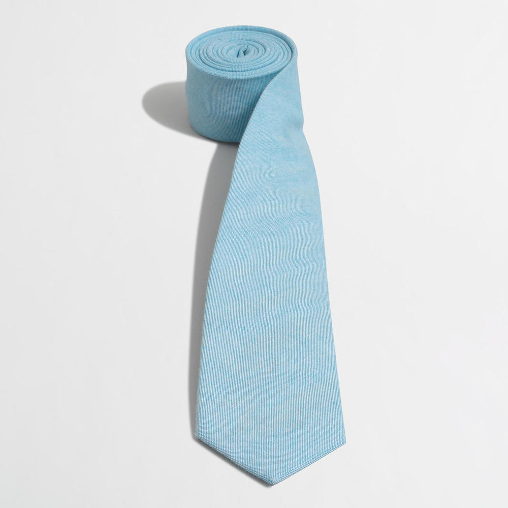 Factory Linen Tie. Available in multiple colors/ prints. J Crew Outlet. Was: $42 Now: $24.