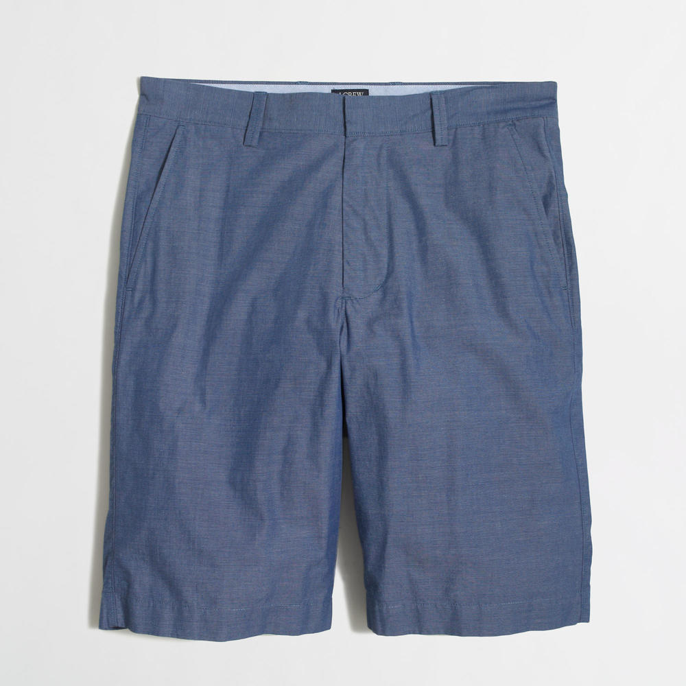 Factory 11 inch Patterned Lightweight Rivington Short. J Crew Outlet. Was: $59 Now: $29.