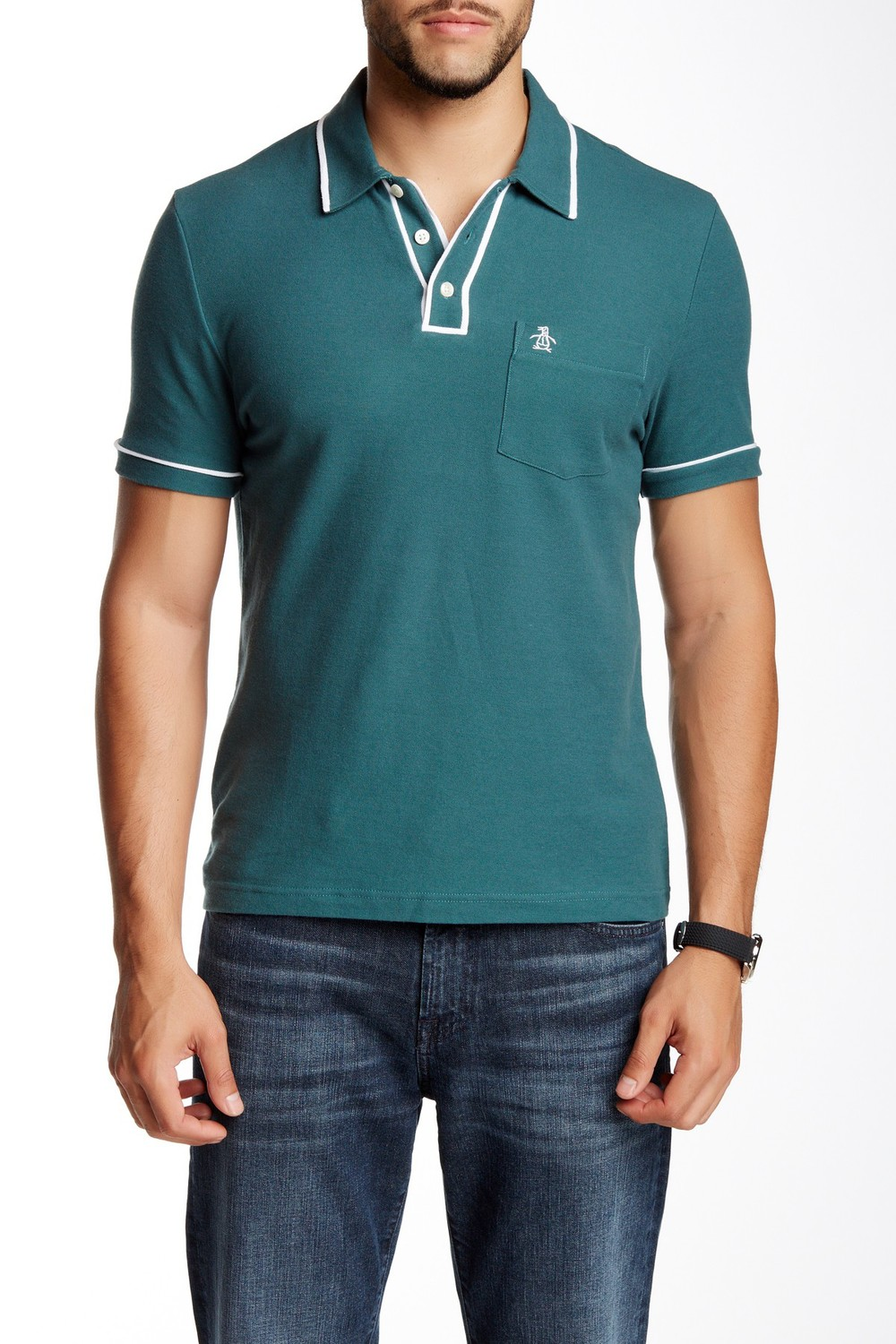 Original Penguin Earl Updated Heritage Slim Fit Polo. Available in multiple colors. Nordstrom Rack. Was: $59 Now: $29.