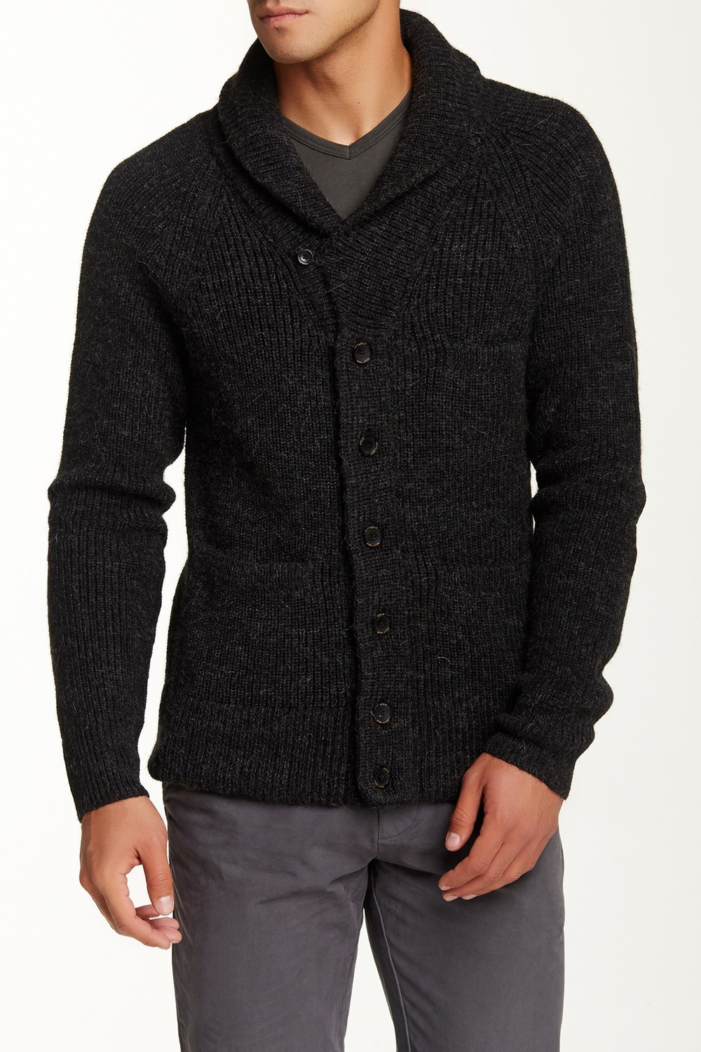 Apolis Cardigan Sweater with Elbow Patches. Nordstrom Rack. Was: $324 Now: $129.
