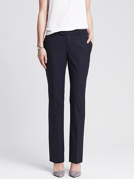 Martin Fit Navy Lightweight Wool Straight Leg. Banana Republic. Was: $ 98 Now: $80.