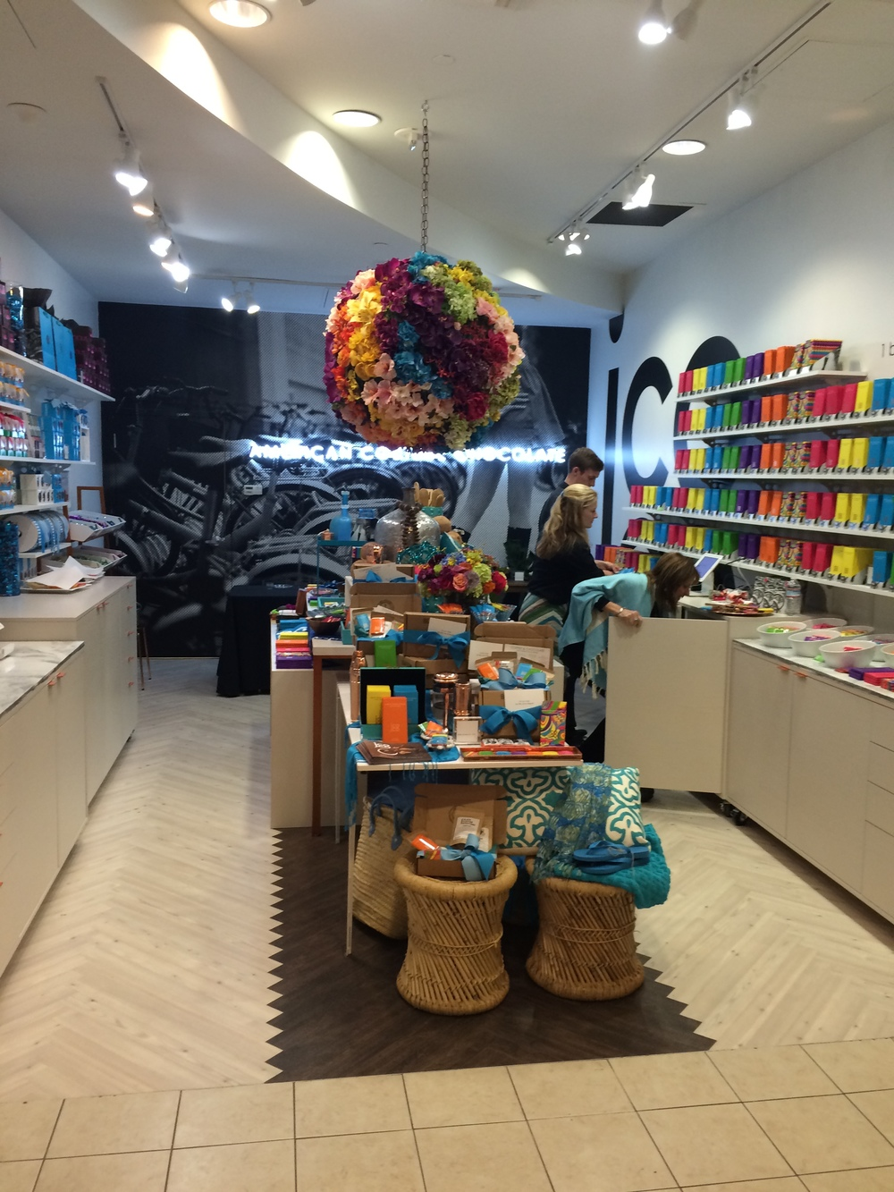 Could it be more beautiful? Welcome to the new JCOCO pop up shop in Bellevue Square.