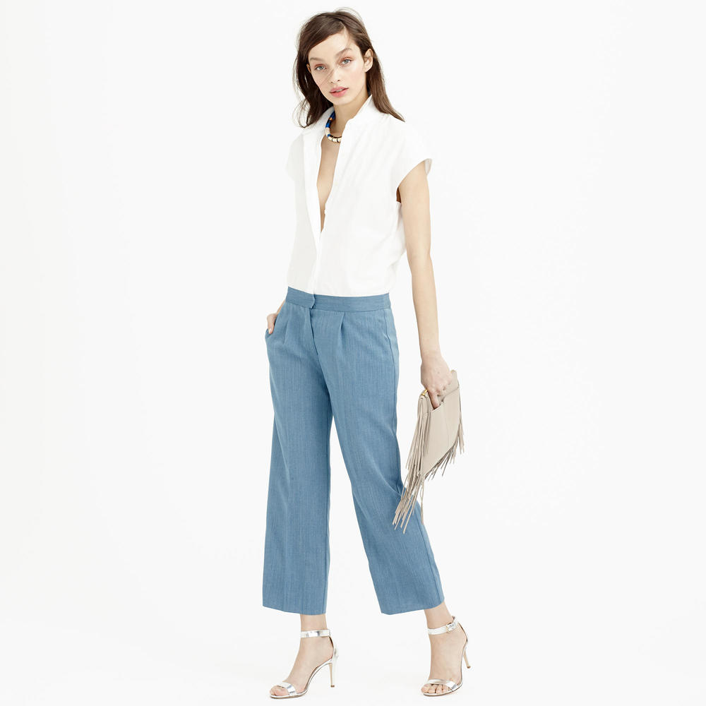 Collection Thomas Mason for J.Crew wide leg jumpsuit. J.Crew. $298.