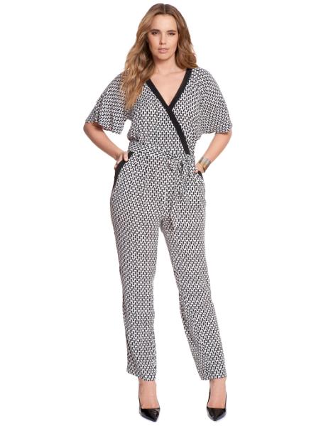 Flutter Sleeve Jumpsuit. Eloquii. $99.90