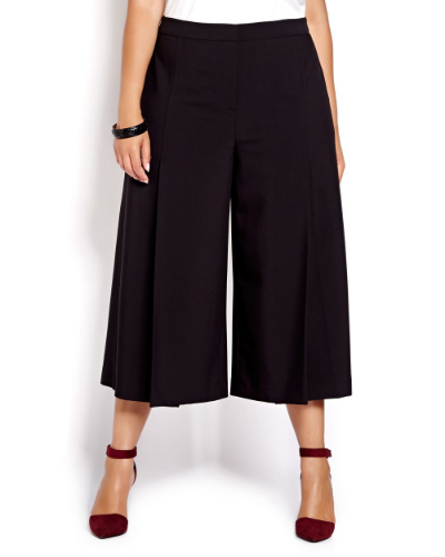 Michel Studio Wide Leg Crop Pant. Addition Elle. $70.00