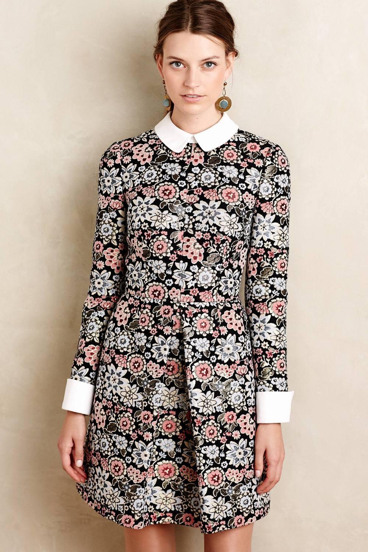 Brocade Blossom Mini Dress. Anthropologie. $448.