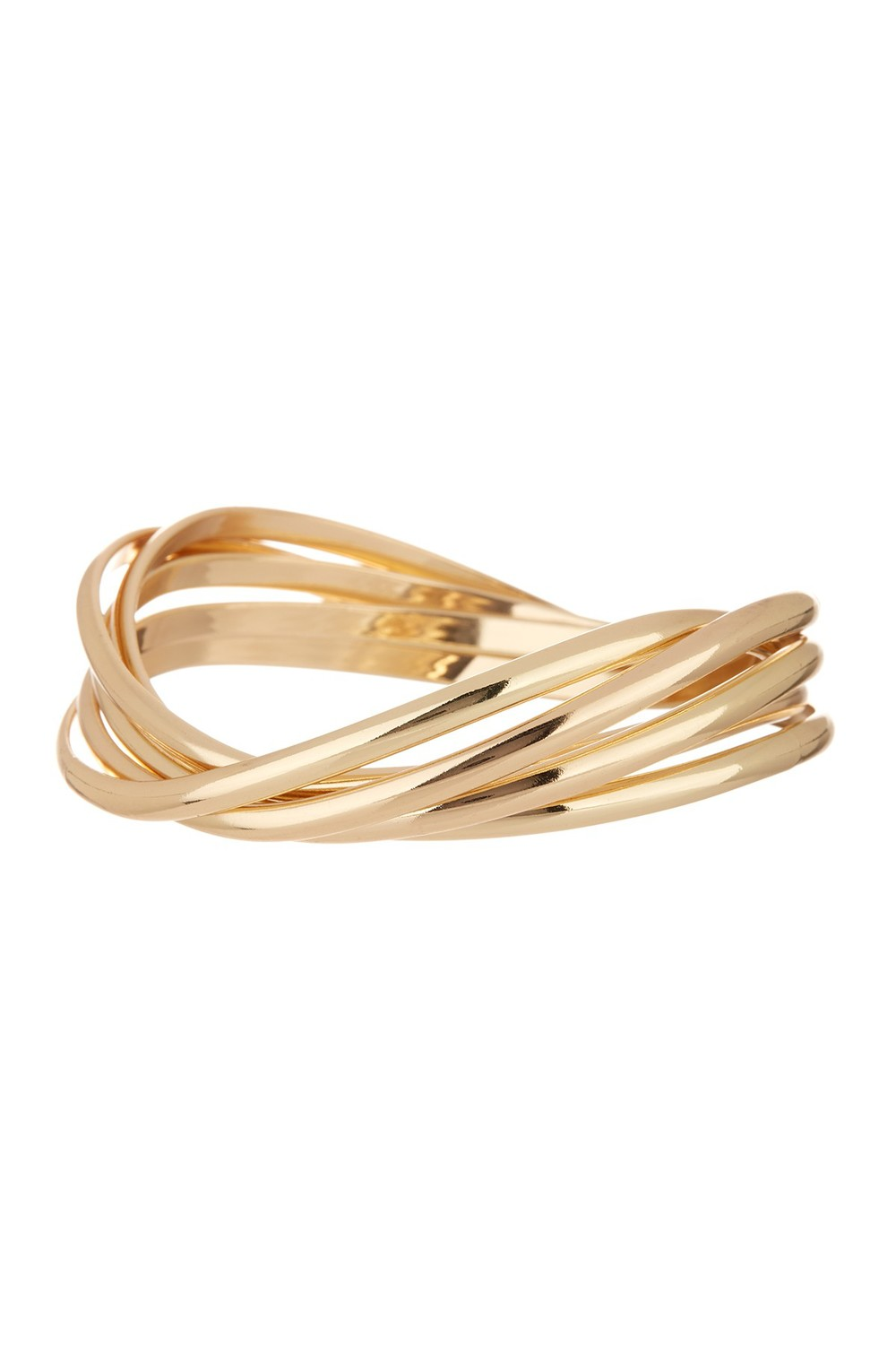 14th and Union Linked Curved Bangle. Nordstrom Rack. $15.