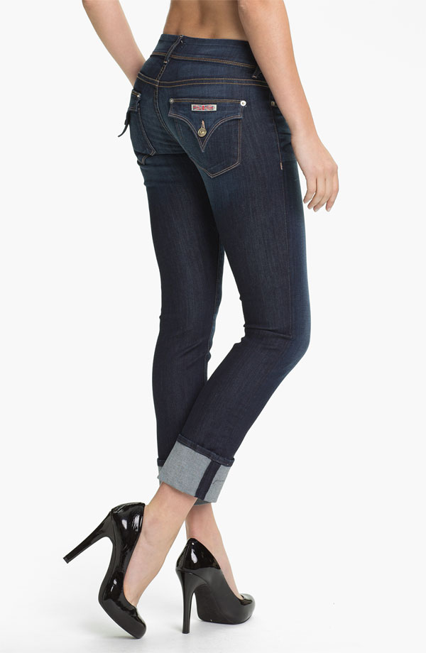 Hudson Jeans Ginny Crop Stretch Jeans (Stella). Nordstrom. $189.