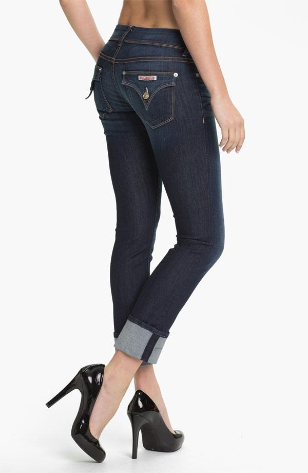 Hudson Jeans Ginny Crop Stretch Jeans (Stella). Nordstrom. $189.