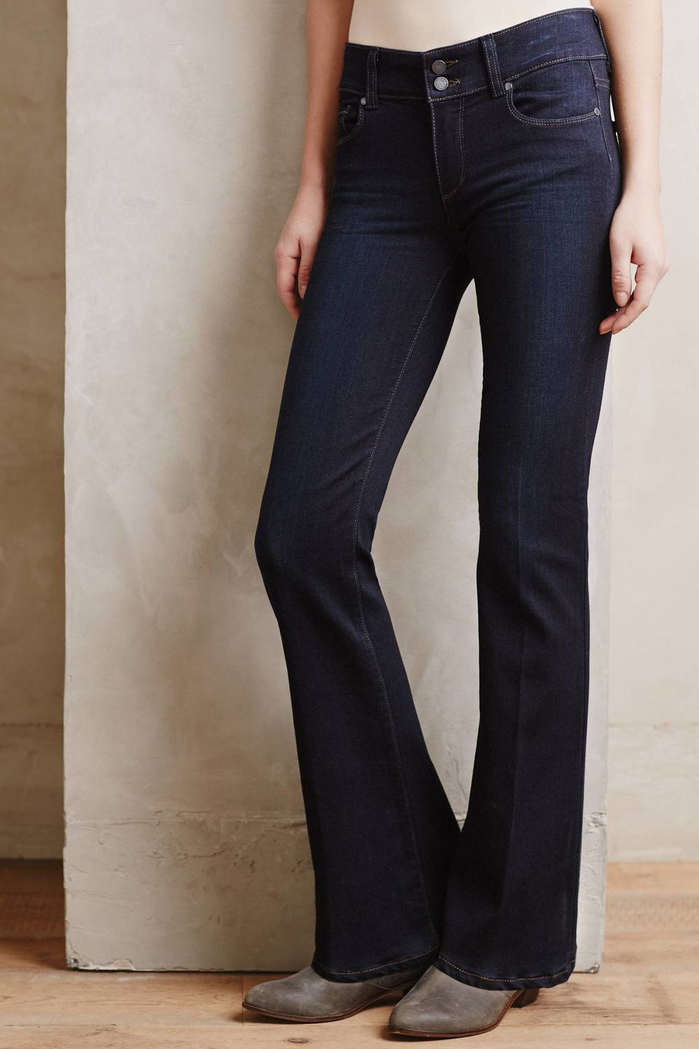 Paige Hidden Hills Petite Bootcut Jeans. Anthropology. $179.